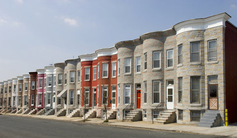 East Coast rowhouses
