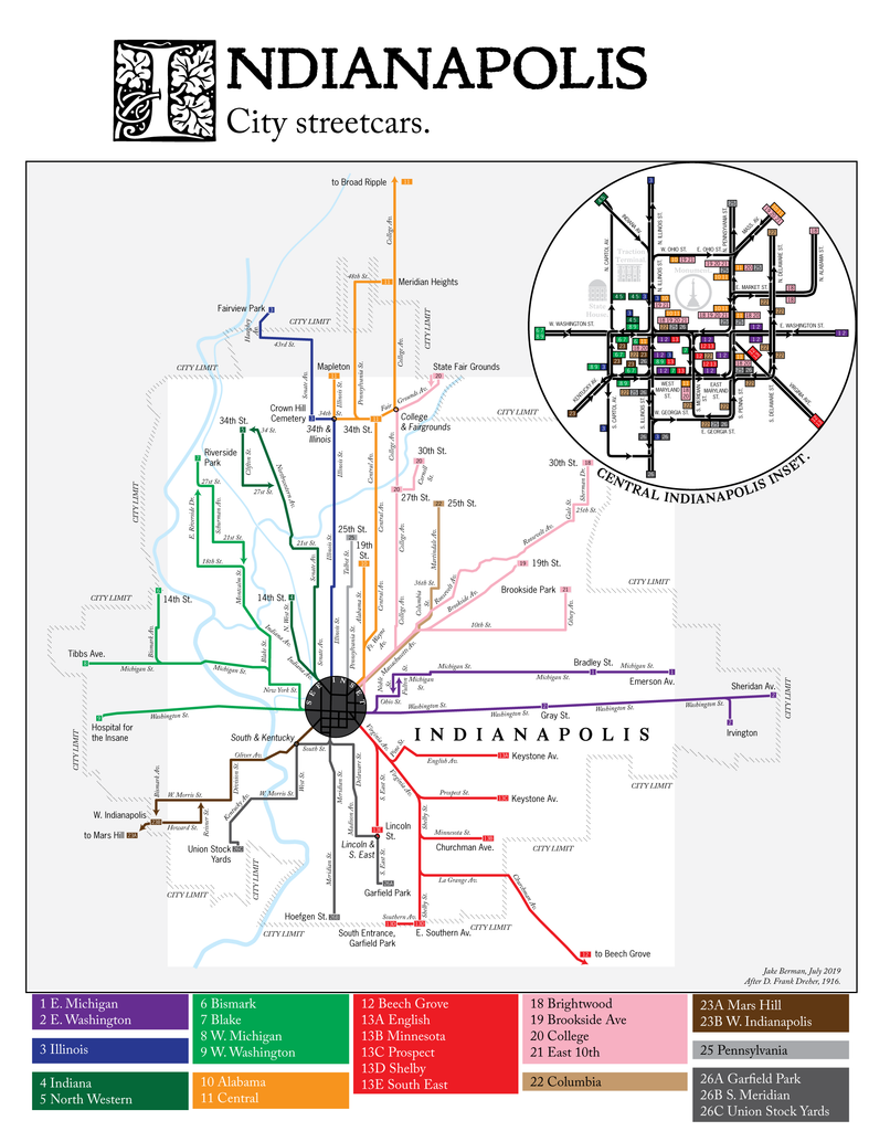 Indianapolis streetcar system and interurban light rail map ... on indianapolis townships, indianapolis news anchors, indianapolis warren central high school, indianapolis gangs, indianapolis trains, indianapolis road course, indianapolis indiana united states, indianapolis skyline panoramic, indianapolis city, indianapolis school buses, indianapolis airport terminal, indianapolis suburbs, indianapolis ghetto, indianapolis water park, indianapolis hotels, indianapolis in us, indianapolis mall, indiana meth lab map,