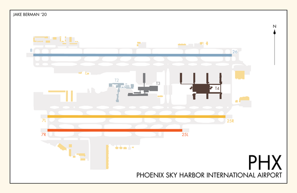 Phoenix Sky Harbor International Airport print