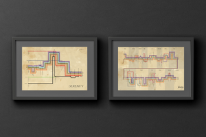 Set of two Firefly & Serenity plot diagrams