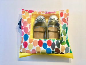 Children's shoe pouches