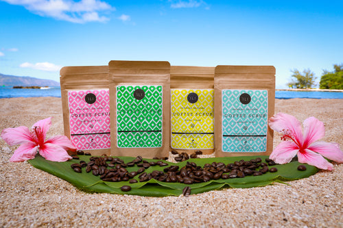 'ILI Hawaiian Skincare Coffee Scrubs
