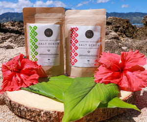 'ILI Hawaiian Skincare Salt Scrubs