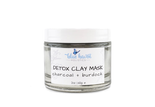 Charcoal + Burdock Detox Face Mask