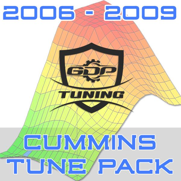 2006 - 2009 Cummins EFILive GDP Tuning Tune Pack