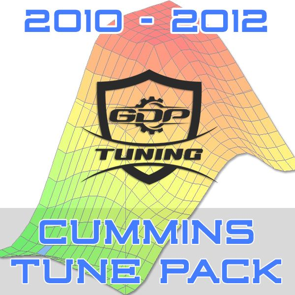 2010 - 2012 Cummins EFI Live GDP Tuning Tune Pack