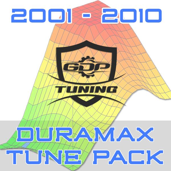 2001 - 2010 Duramax GDP Tuning EFILive 5 Tune Pack