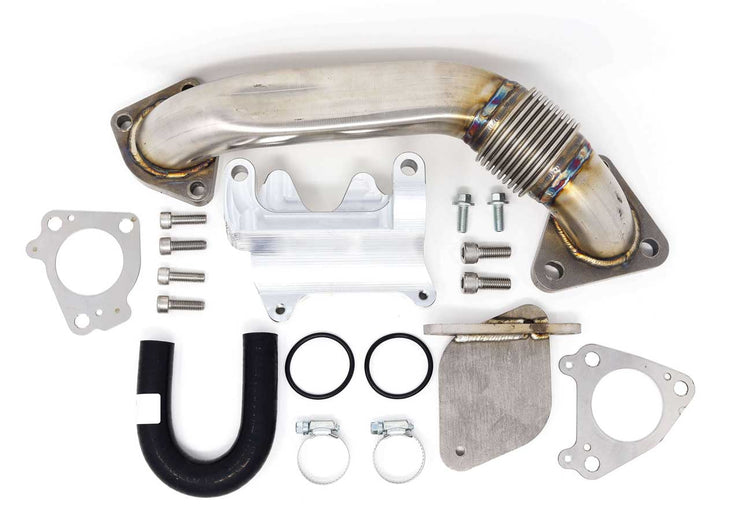 2007-2010 LMM Duramax Cooler Upgrade Kit w/ Up Pipe