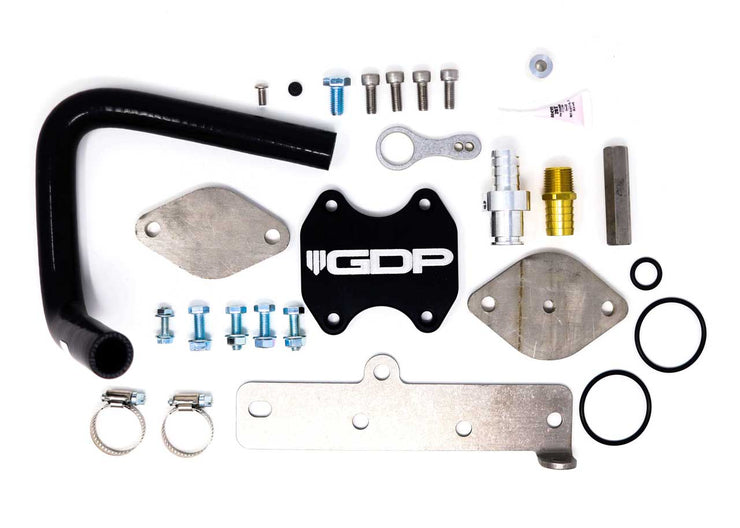 2013-2019 Dodge Cummins Pickup Cooler Upgrade Kit with Bracket and Gaskets