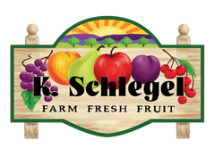 K. Schlegel Fruit Farm Logo