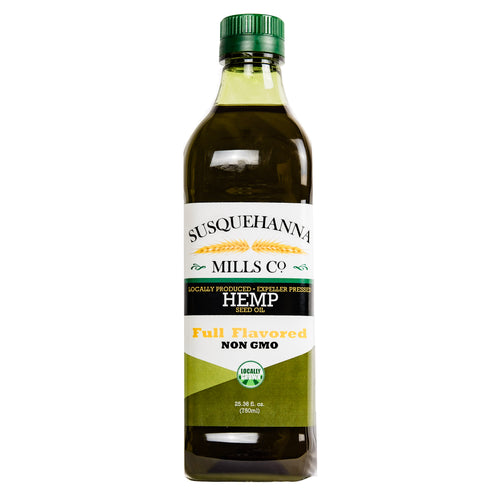 Full-Flavor Hempseed Oil