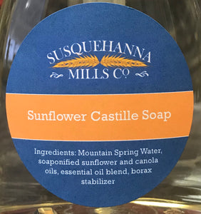 Sunflower Liquid Soap