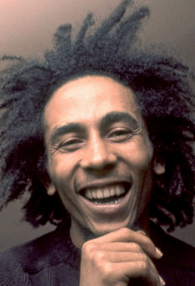 BLACK HISTORY MONTH  -  ST ANN LEGENDS 'BOB MARLEY'