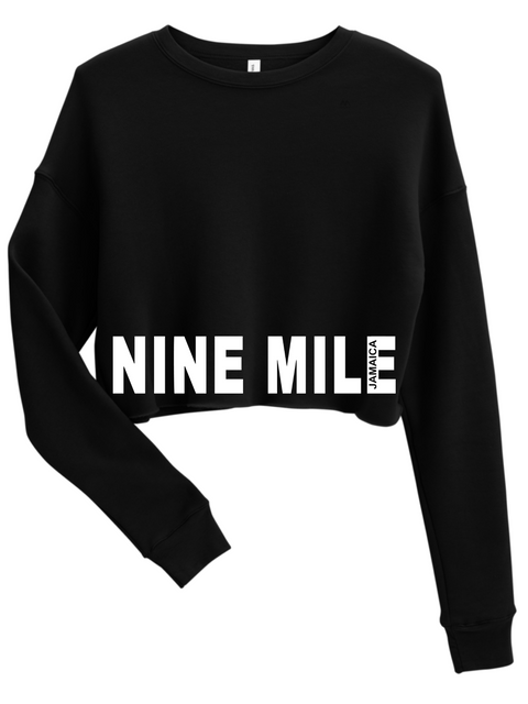 Nine Mile Hem Cut Low Crop Sweatshirt