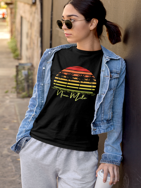 Nine Mile Sunset Short-Sleeve Unisex T-Shirt