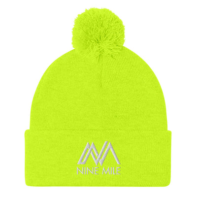 Nine Mile Neon Yellow Pom-Pom Beanie