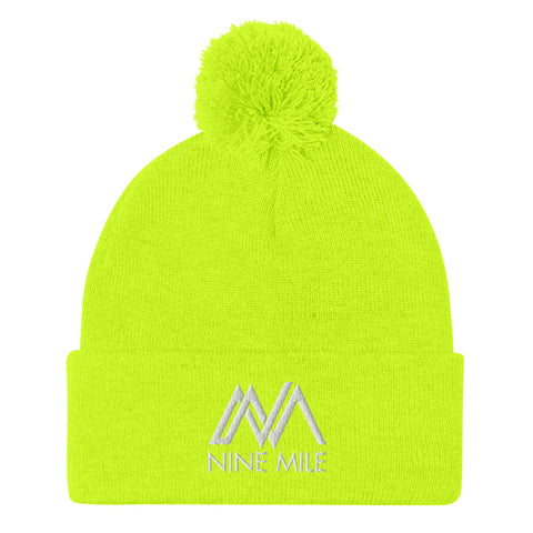 Nine Mile Neon Yellow Pom-Pom Beanie Hat
