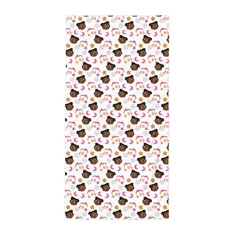 Nine Mile Babies Prinny Pie Towel for Kids