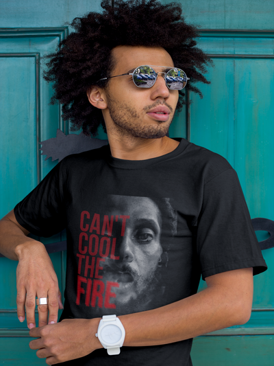 Julian Marley 'Can't Cool the Fire' Short-Sleeve Unisex T-Shirt