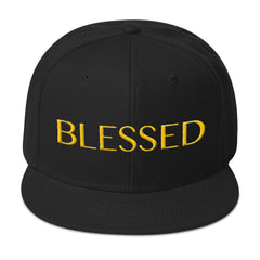 Gold Blessed - Snapback Cap
