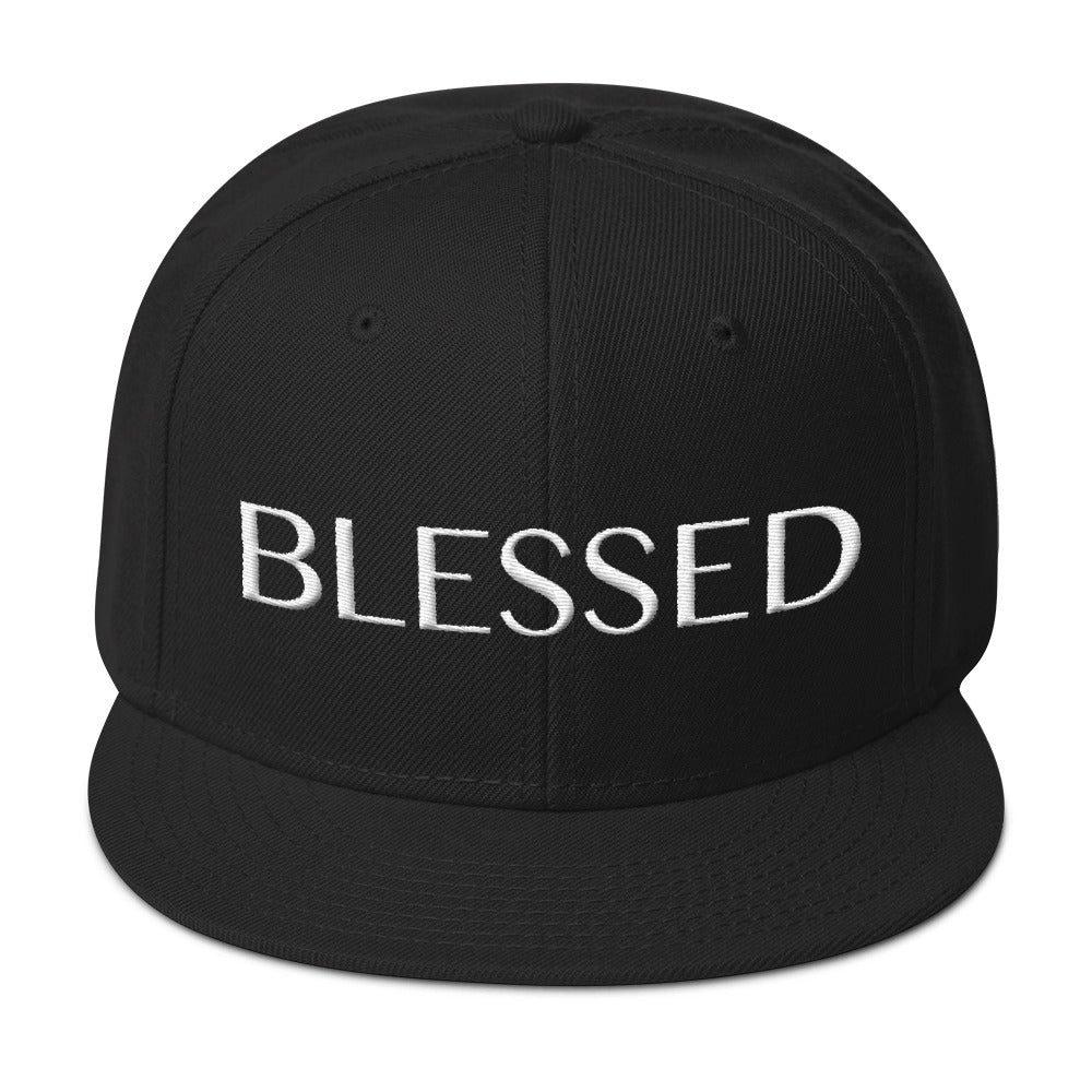 White Blessed - Snapback Cap