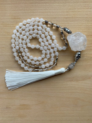 ATLIN Quartz Mala Necklace