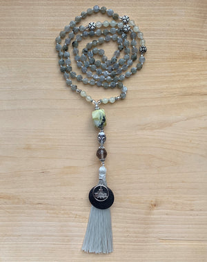 The Edziza Mala Necklace for Meditation