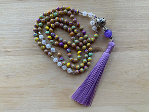 JOLO Howlite mala necklace