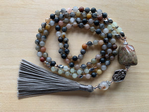 NAZKO Tourmaline mala necklace
