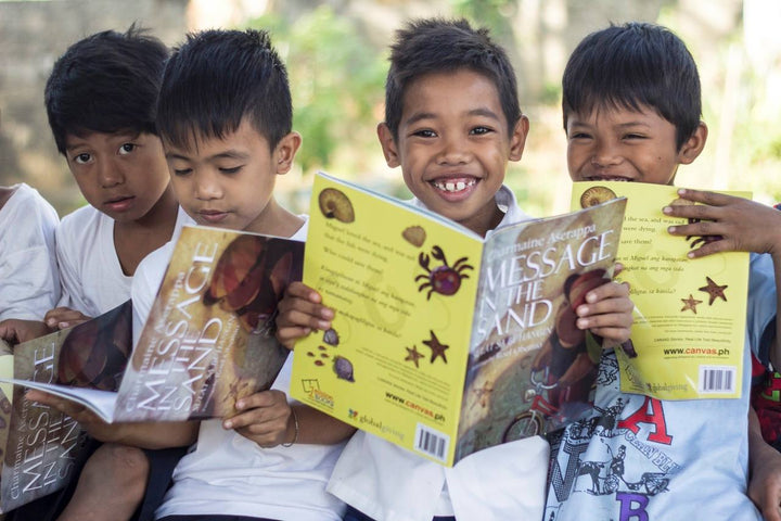Improving Reading and Literacy through Gifts that Give Back