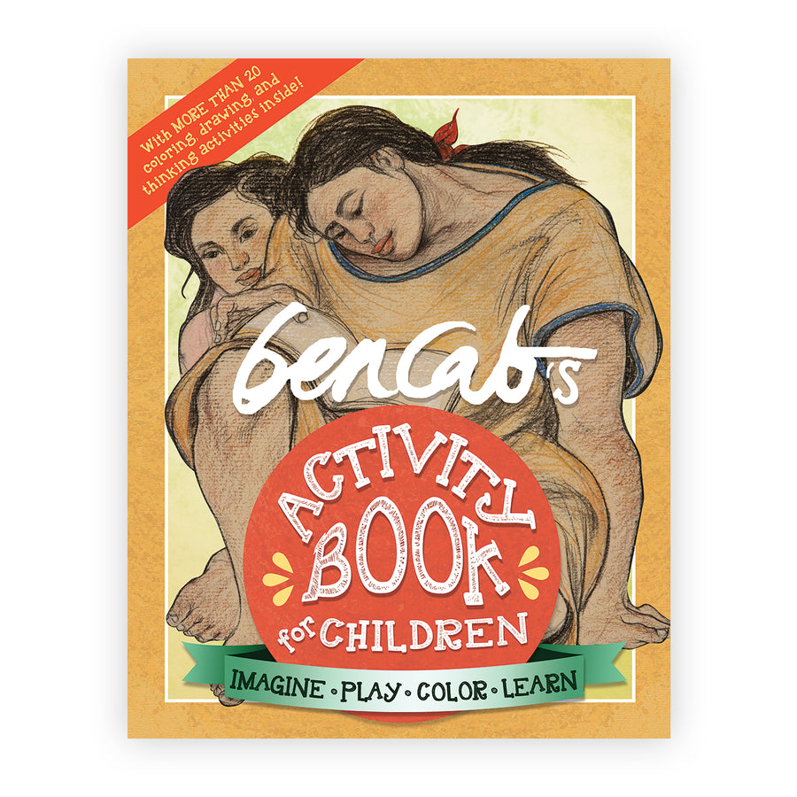BenCab's Activity Book for Children: Imagine, Play, Color, Learn