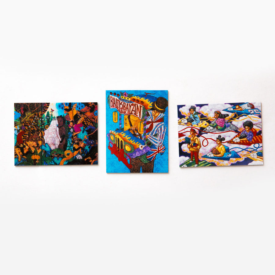 Art Magnets (Set of 3)