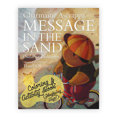 Message in The Sand Coloring and Activity Book