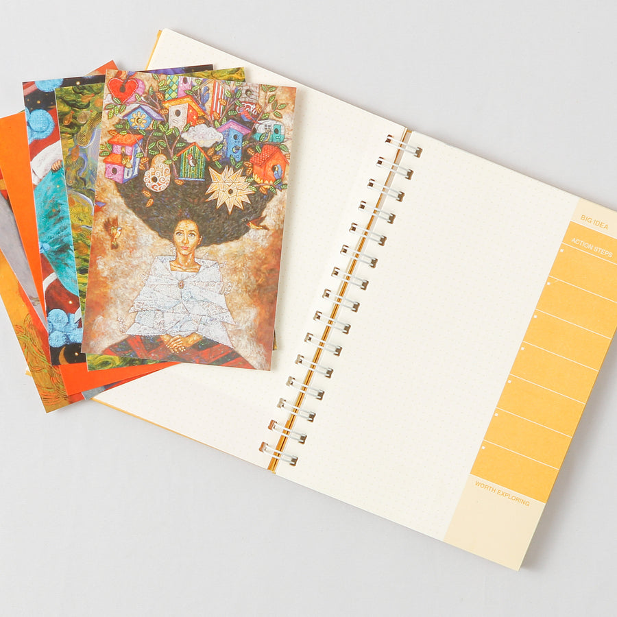 CANVAS Creative Journal and Monthly Planner