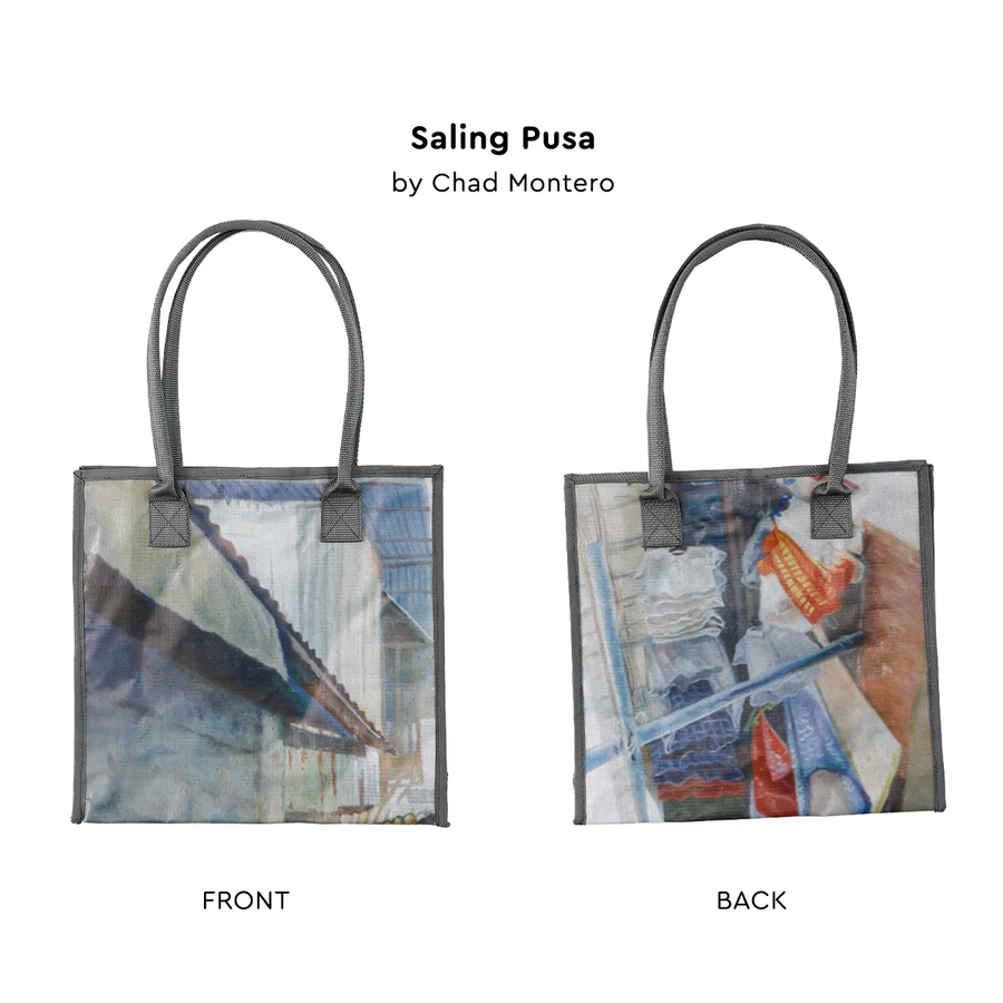 Upcycled Art Tote Bags