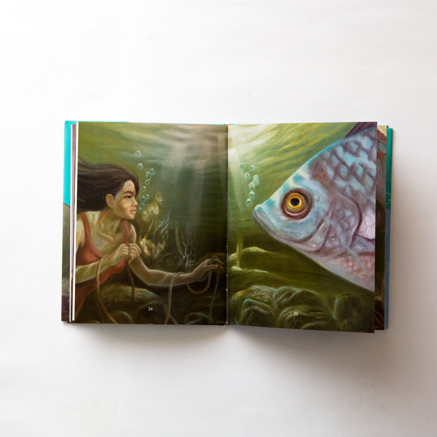 Daughter and The Great Fish, Children's Storybook