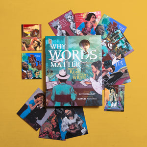 Why Words Matter + Magnets with FREE Art Cards