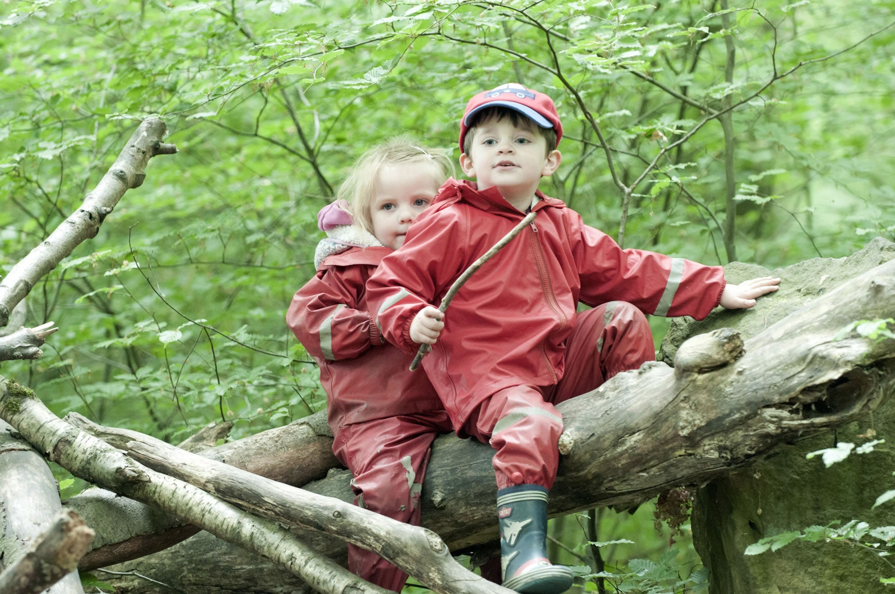 Forest School Risky Play