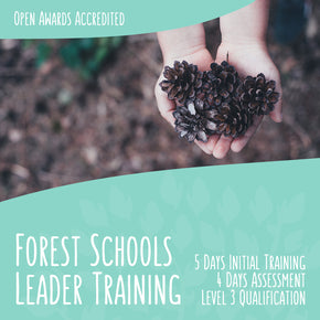 Sarah Blackwell's Freedom 100 - All-Inclusive Forest School Training - forestschools