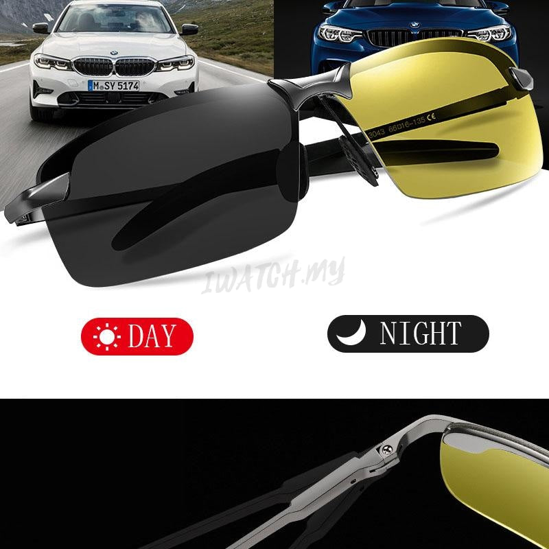 Polarized Photochromic Sunglasses 6516 Grey Yellow Apparel & Accessories > Clothing