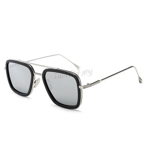 Iron Man Sunglasses Silverblack Apparel & Accessories > Clothing