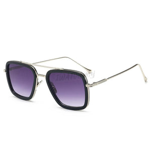 Iron Man Sunglasses Silverpurple Apparel & Accessories > Clothing