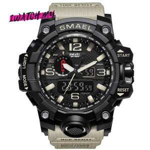 Sports Analog Digital Quartz Watch 8868