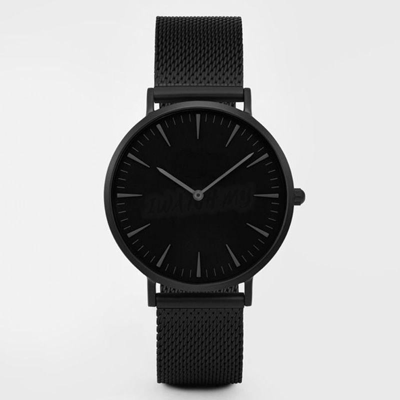 Classic Mesh Strap Watch 3114 Black