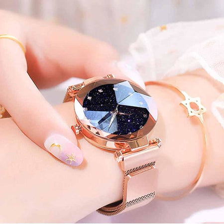 Korean Diamond Magnet Watch 9023