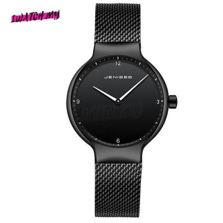 Luxury Ultra Thin Couple Watches-Original 1493 Mesh Strap