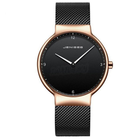 Luxury Ultra Thin Couple Watches-Original 1493 03 / Big Mesh Strap