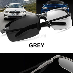 Polarized Photochromic Sunglasses 6516 Grey Apparel & Accessories > Clothing