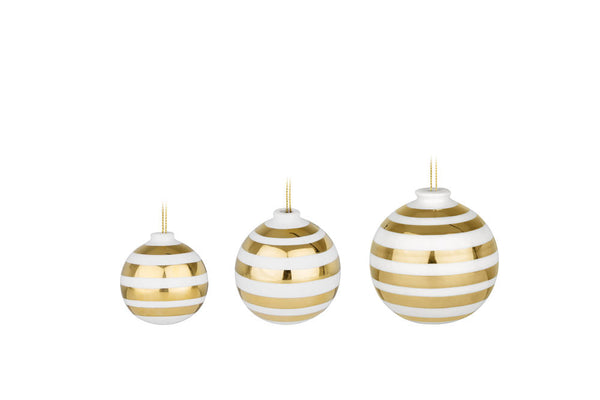 Ommagio Baubles - Gold