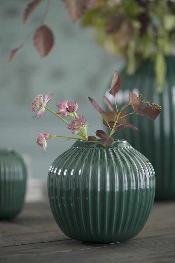 Hammershøi Vase - deep green (Medium)